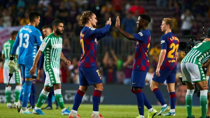 """Barcelona poslala izvinjenje Betisu zbog statusa na Twitteru: """"Pogriješili smo"""""""