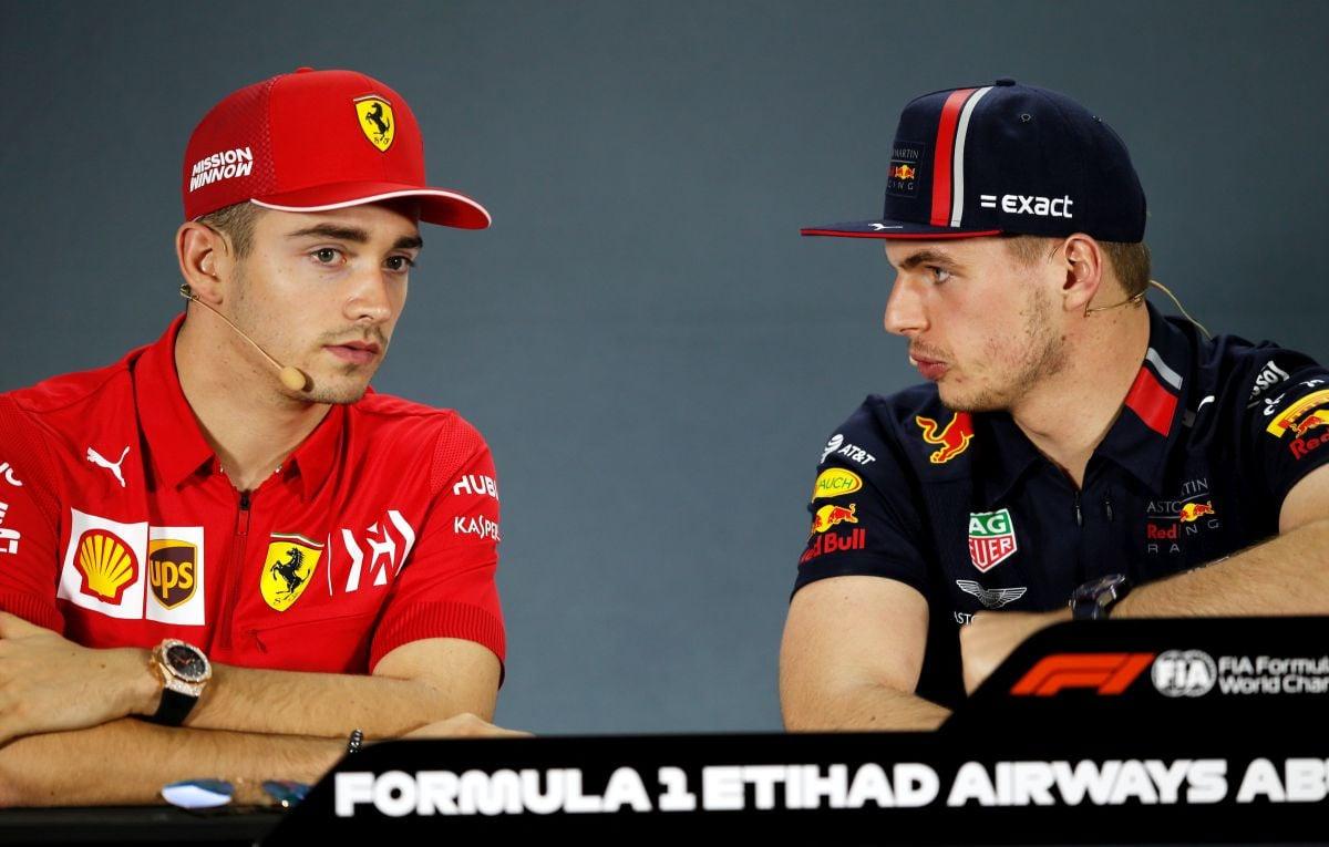 Leclerc prizano da Verstappena nije mogao smisliti očima