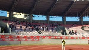 FK Sarajevo u Tuzli ima podršku i sa sjeverne tribine