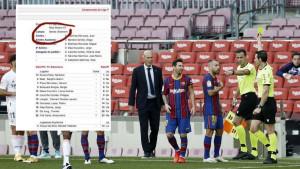 Amaterska greška sudije El Clasica u zapisniku utakmice