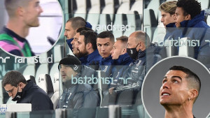 Detalj sa meča Juventus - Lazio je pokazao Ronaldovo pravo lice