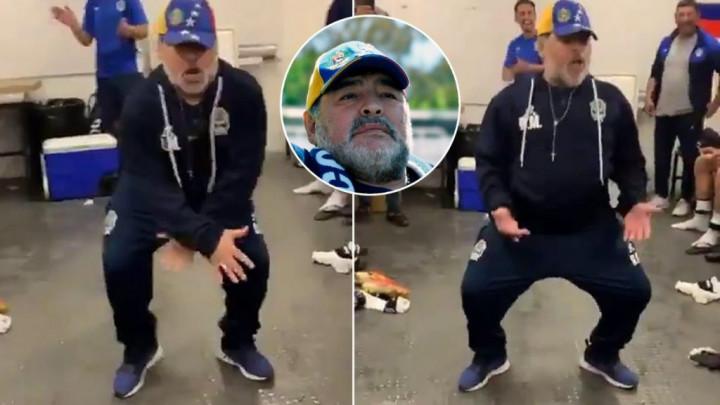 Maradona stigao do prve pobjede s novim timom pa slavio kao da je osvojio naslov prvaka