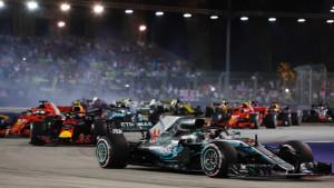 Novi naslov prvaka je sve bliže: Hamilton slavio u Singapuru