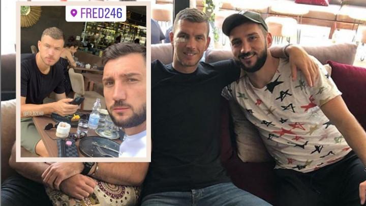 Adilović posjetio Džeku u Rimu: Druženje nije moglo proći bez tradicionalnog bosanskog običaja