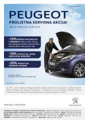 Peugeot proljetna servisna akcija
