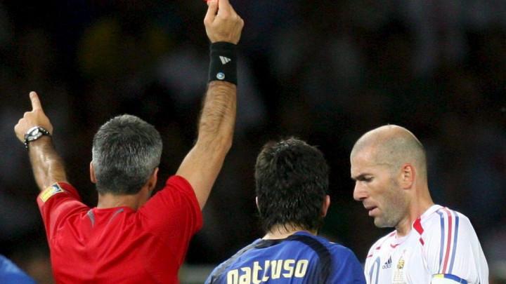 Sudija koji je isključio Zidanea u finalu: Anđeo čuvar mi je rekao da ću zažaliti ako to ne uradim