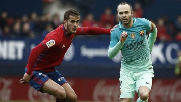 Barcelona u drugom poluvremenu 'sredila' Osasunu
