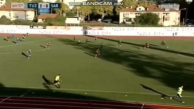 Tek što je počeo nastavak, Tuzla City zabio drugi gol