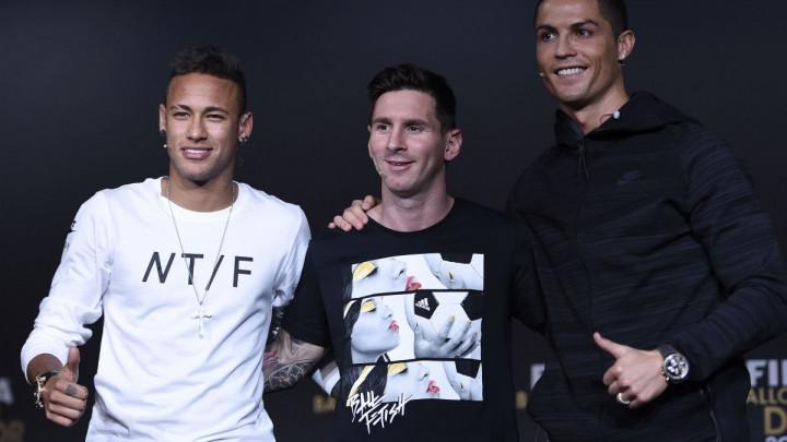 """""""Neymar i Messi moraju osvojiti SP da bi bili bolji od mene, a od Ronalda sam tehnički bolji"""""""