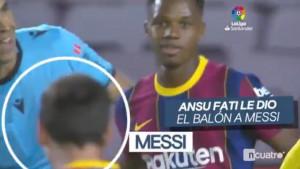 Ansu Fati htio izvesti penal i zabiti hat-trick Villarrealu, a onda se pojavio Messi