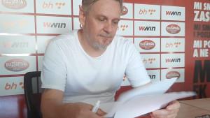 Adnan Osmanhodžić dobio novu funkciju u FK Sloboda