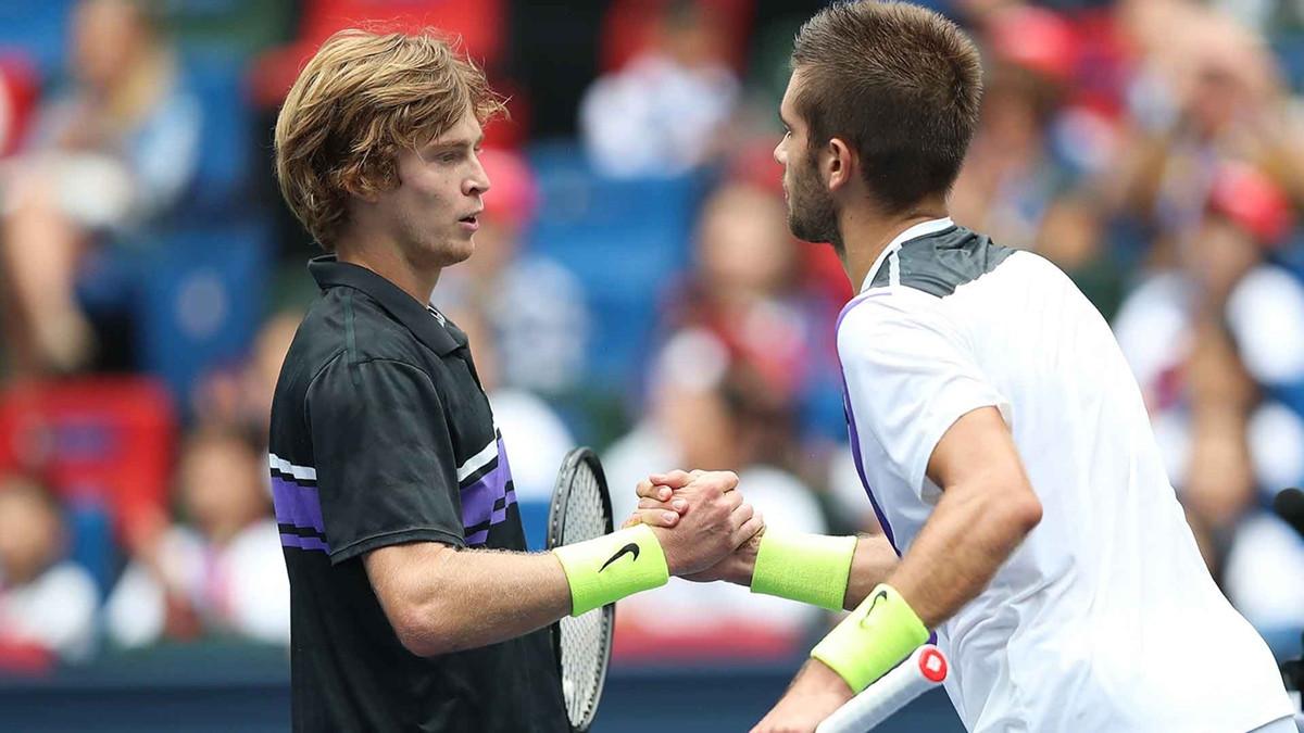 Borna Ćorić i Andrey Rublev u finalu turnira u St. Petersburgu