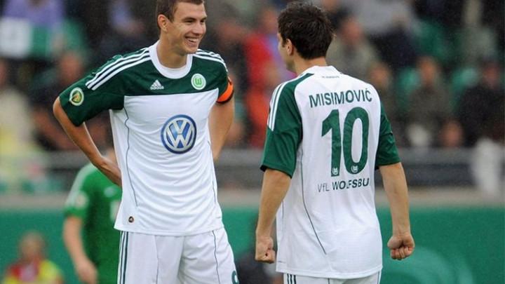 Wolfsburgovi navijači oduševljeni današnjom objavom Edina Džeke