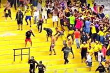 Haos na meču ekvadorske lige