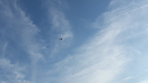 Avion nije bez razloga letio iznad stadiona: Bacio je letke na oduševljenje navijača Veleža