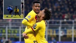 """Ansu Fati na treningu Barcelone """"obrukao"""" 15 godina starijeg saigrača"""