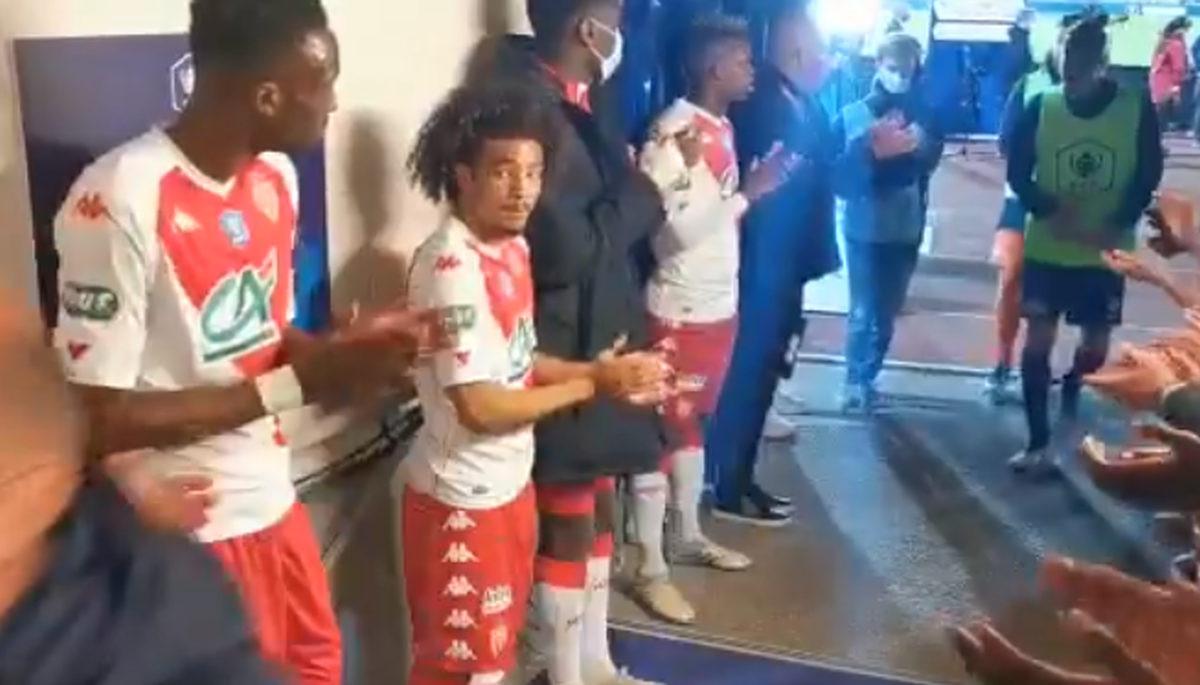 Igrači Monaca oduševili su potezom u tunelu nakon plasmana u finale Kupa