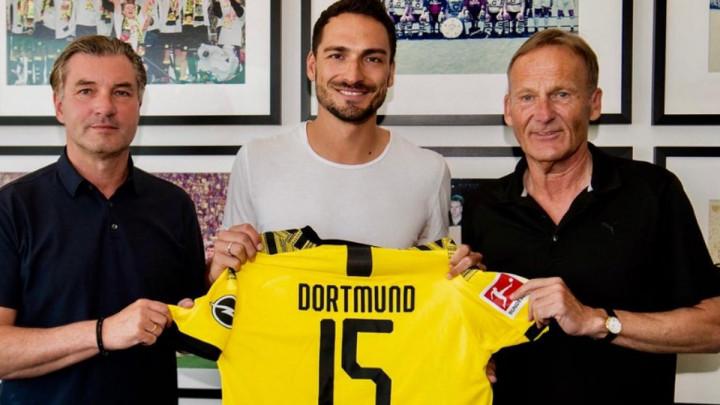 Borussia potvrdila: Matts Hummels se vratio