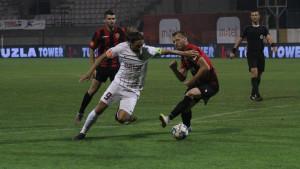 FK Sarajevo čvrsto drži vrh: Dvije majstorije Fanima i Ahmetović za tešku pobjedu na Tušnju
