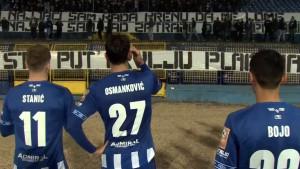 Jasna poruka s tribina Grbavice: Hoćemo pobjedu, pobjedu na derbiju