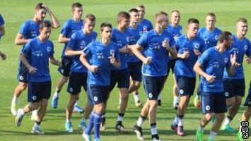 Opuštena atmosfera u taboru mlade reprezentacije BiH