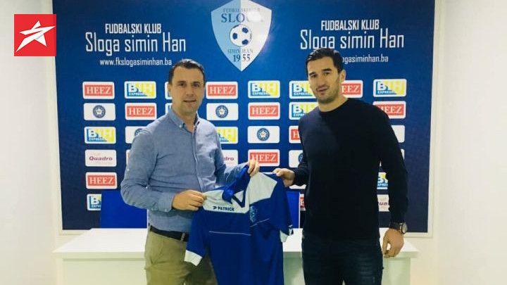 Službeno: Aidin Mahmutović novi igrač Sloge