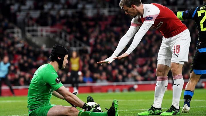 Kad nužda natjera: Fudbaler Arsenala trčao u toalet usred utakmice