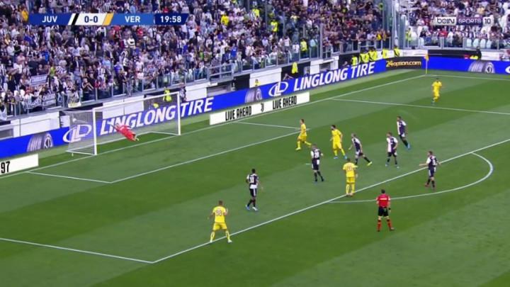 Čak ni Buffon nije mogao ništa uraditi: Spektakularan gol Velosa za vodstvo Verone