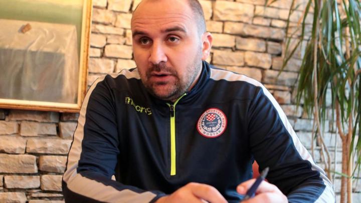 Žižović: Bez obzira ko bio trener ambicije Zrinjskog su uvijek osvajanje duple krune