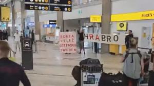 Velika je to ljubav: Ekspediciju Veleža u Švedskoj dočekali navijači uz pjesmu