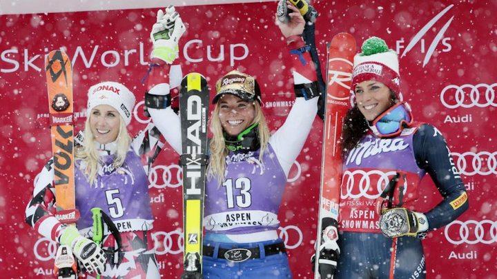 Lari Gut pobjeda u veleslalomu, Shiffrin u slalomu