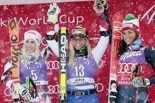 Lara Gut slavila u Aspenu, utrku obilježio pad Shiffrinove