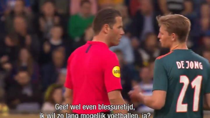 Ajax je vodio 4:1 i čekao proslavu titule, a De Jong tražio od sudije da pusti još da se igra