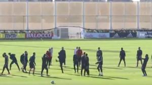 Zbog Ronaldove nervoze nastradale su tri lopte na treningu Juventusa
