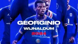 Georginio Wijnaldum novi igrač PSG-a!