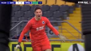 Golman Club Bruggea u 96. minuti protiv Real Madrida postigao sjajan gol za prolaz dalje
