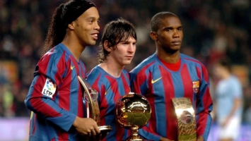 Messi je 'ispratio' brojne saigrače u napadu