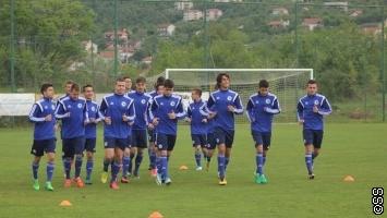 Odrađen trening bh. kadeta pred meč odluke protiv Srbije