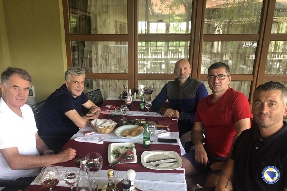 Begić okupio stručni štab reprezentacije u Mostaru