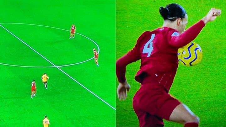 Novinari Van Dijka pitali je li igrao rukom kod gola Liverpoola i dobili su očekivan odgovor