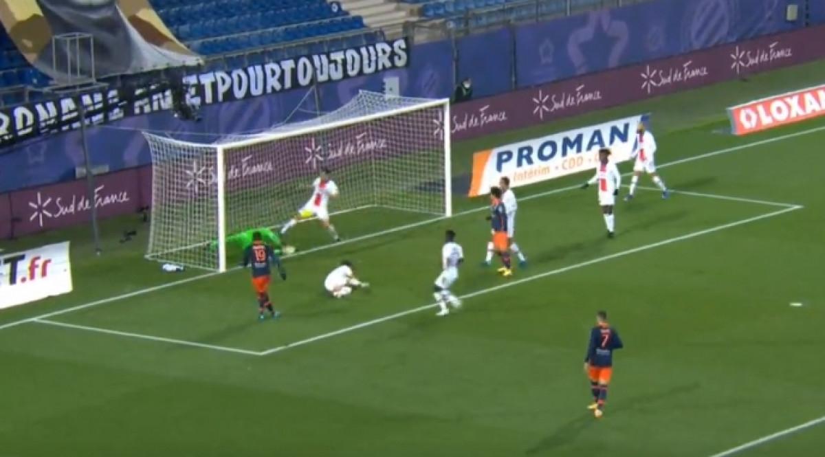 Igrači PSG-a su učinili sve da lopta ne uđe u gol, ali nisu imali sreće