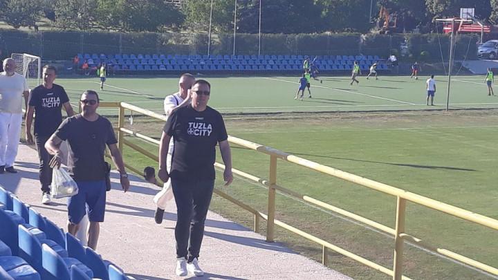 Privukao je veliku pažnju: Azmir Husić nije želio propustiti meč protiv Veleža