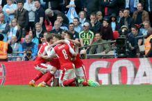 Arsenal slavi finale FA Cupa