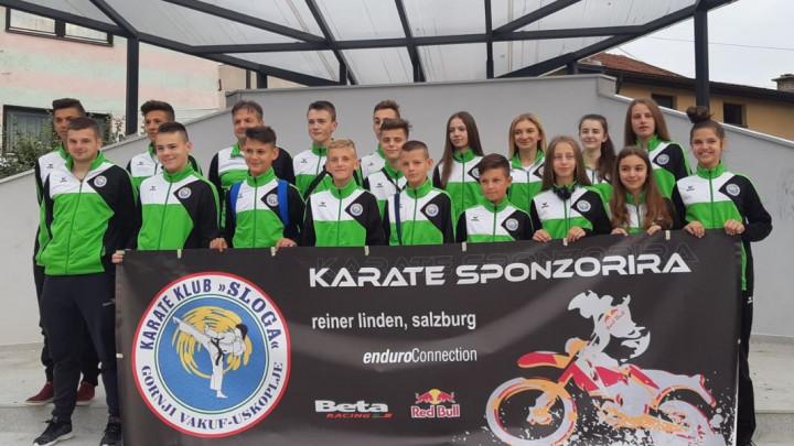 Karate klub Sloga na seminaru u Austriji