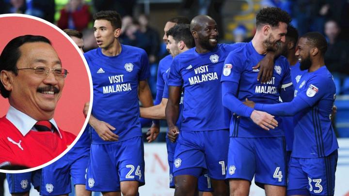Vincent Tan zadovoljno trlja ruke, Cardiffa pobjeda dijeli od Premier lige