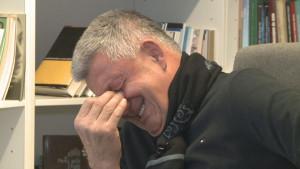Musemića savladale emocije: Pred kamerama zaplakao zbog otkaza u FK Sarajevo