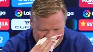 Zašto Ronaldu Koemanu često krvari nos?
