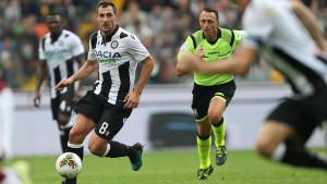 Jajalo 'pocrvenio' u gostujućem porazu Udinesea