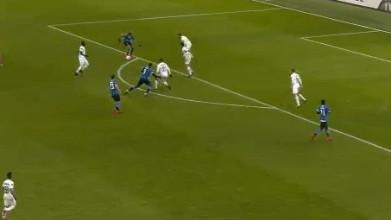 Komičan gol Lukakua za vodstvo Intera