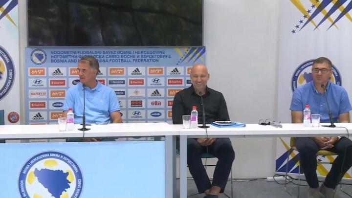 Bajević i Cviko objasnili spisak igrača za mečeve s Italijom i Poljskom, te otkrili šta očekuju